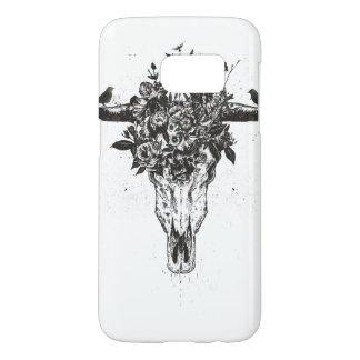 Funda Para Samsung Galaxy S7 Verano muerto (blanco y negro)