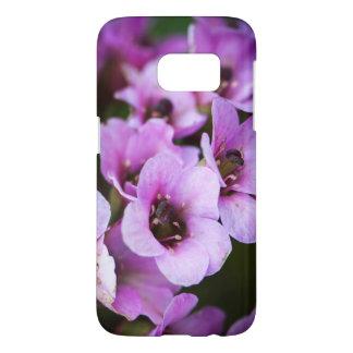 Funda Para Samsung Galaxy S7 Wildflowers púrpuras