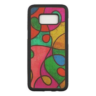 Funda Para Samsung Galaxy S8 De Carved Arte abstracto colorido