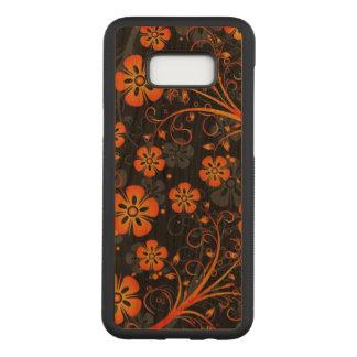 Funda Para Samsung Galaxy S8+ De Carved Arte anaranjado hermoso de la impresión del
