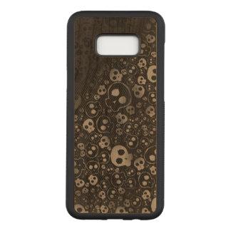 Funda Para Samsung Galaxy S8+ De Carved arte blanco y negro de la pintada de la impresión