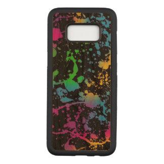 Funda Para Samsung Galaxy S8 De Carved arte colorido de los puntos de las manchas