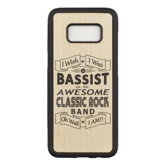 Funda Para Samsung Galaxy S8 De Carved Banda de rock clásica impresionante del BAJISTA