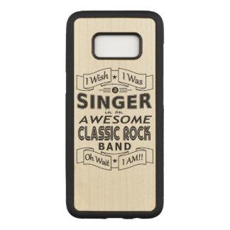 Funda Para Samsung Galaxy S8 De Carved Banda de rock clásica impresionante del CANTANTE