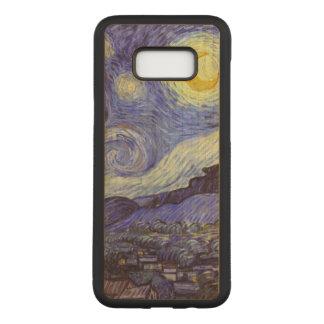 Funda Para Samsung Galaxy S8+ De Carved Bella arte del vintage de la noche estrellada de