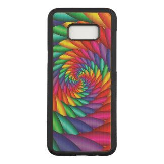 Funda Para Samsung Galaxy S8+ De Carved Caja espiral del teléfono de la torsión del túnel