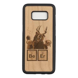 Funda Para Samsung Galaxy S8 De Carved Cerveza descubierta oso de la química