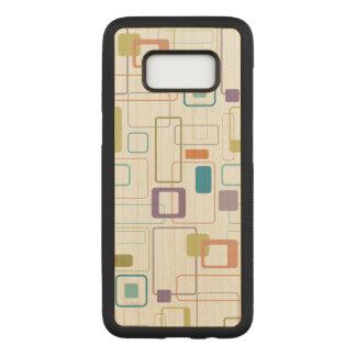 Funda Para Samsung Galaxy S8 De Carved Cuadrado de la MOD impreso en el caso de madera