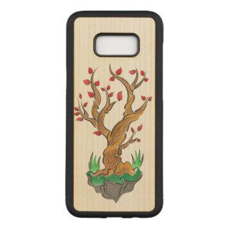 Funda Para Samsung Galaxy S8+ De Carved Ejemplo artístico del árbol