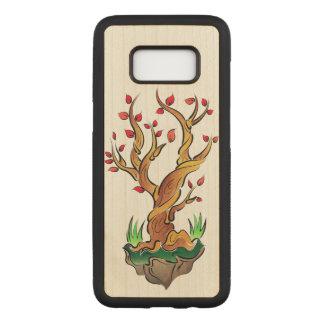 Funda Para Samsung Galaxy S8 De Carved Ejemplo colorido del árbol