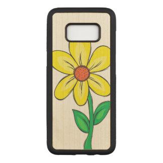 Funda Para Samsung Galaxy S8 De Carved Ejemplo de la flor de la primavera