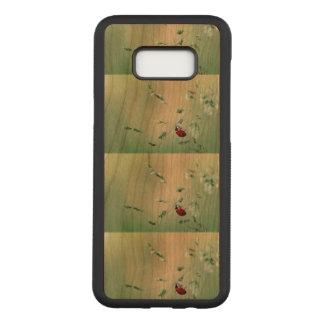 Funda Para Samsung Galaxy S8+ De Carved El personalizado de la suerte de la mariquita