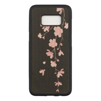 Funda Para Samsung Galaxy S8 De Carved Flor de cerezo - negro