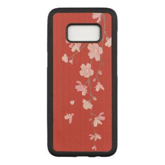 Funda Para Samsung Galaxy S8 De Carved Flor de cerezo - rojo