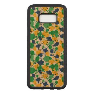 Funda Para Samsung Galaxy S8+ De Carved Galaxia colorida S8 de Samsung+ Caja de madera de