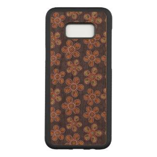 Funda Para Samsung Galaxy S8+ De Carved Galaxia floral S8 de Samsung+ Caja de madera de la