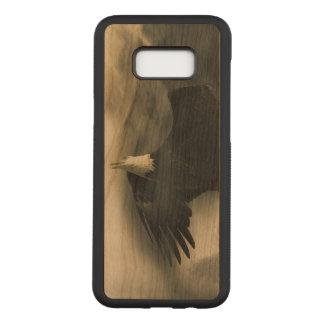 Funda Para Samsung Galaxy S8+ De Carved Galaxia S8 de Eagle Samsung+ Caja de madera de la