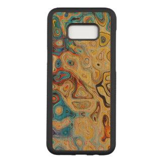 Funda Para Samsung Galaxy S8+ De Carved Galaxia S8 de Samsung del arte+ Caja de madera de