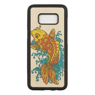 Funda Para Samsung Galaxy S8 De Carved Goldfish colorido Koi