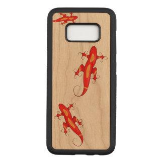 Funda Para Samsung Galaxy S8 De Carved Lagartos Rizado-Tocados con la punta del pie