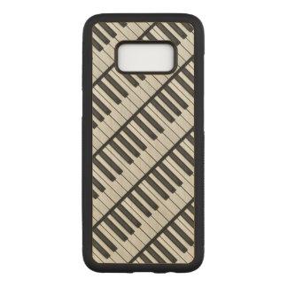Funda Para Samsung Galaxy S8 De Carved Llaves negras y blancas del piano