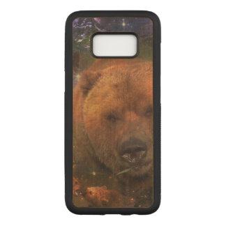 Funda Para Samsung Galaxy S8 De Carved Oso gigantesco con Cubs