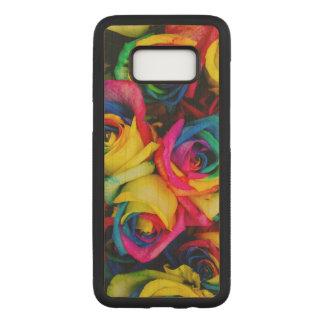 Funda Para Samsung Galaxy S8 De Carved Rosas coloridos