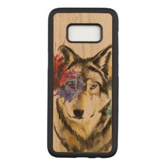 Funda Para Samsung Galaxy S8 De Carved Salpicadura del lobo