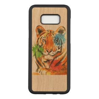 Funda Para Samsung Galaxy S8+ De Carved Salpicadura del tigre