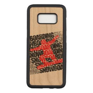 Funda Para Samsung Galaxy S8 De Carved Snowboard #1 (negro)