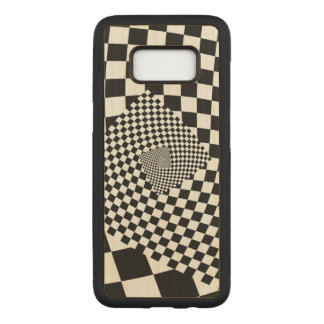Funda Para Samsung Galaxy S8 De Carved Tablero de damas del remolino
