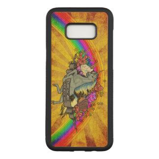Funda Para Samsung Galaxy S8+ De Carved Unicornio impresionante de la sobrecarga, arco