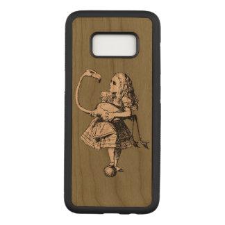 Funda Para Samsung Galaxy S8 De Carved Vintage Alicia en flamenco del país de las