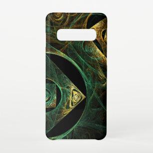 Funda Para Samsung Galaxy S10 Vibraciones mágicas resumen materia de arte