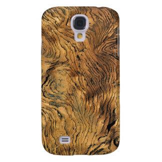 Funda Para Samsung S4 Caja de cobre envejecida 2 de la mota