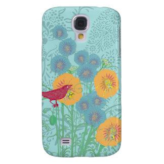 Funda Para Samsung S4 Cubierta del iPhone de la correhuela del pájaro