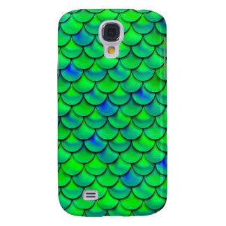Funda Para Samsung S4 Escalas azulverdes de Falln
