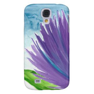 Funda Para Samsung S4 Flor púrpura 1