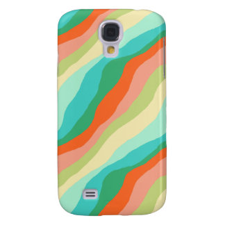 Funda Para Samsung S4 Modelo colorido del extracto de la primavera