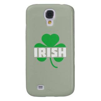 Funda Para Samsung S4 Trébol irlandés Z2n9r del cloverleaf