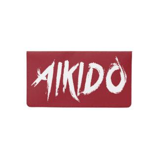 Funda Para Talonario De Cheques Aikido