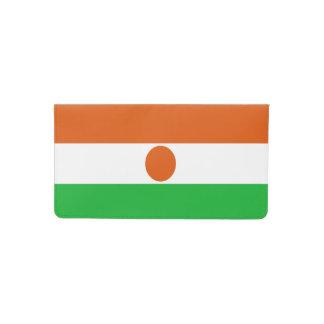 Funda Para Talonario De Cheques Bandera de Niger