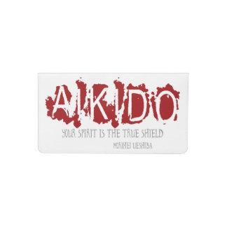 Funda Para Talonario De Cheques Cita del Aikido