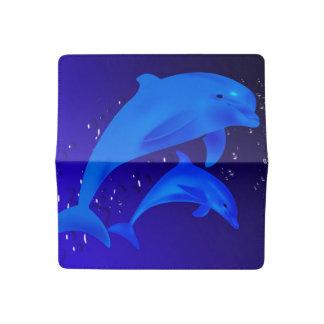 Funda Para Talonario De Cheques Delfínes