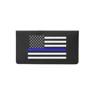 Funda Para Talonario De Cheques Gráfico fino simbólico de la bandera americana de
