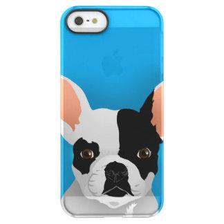 Funda Permafrost® Para iPhone SE/5/5s Arte del dogo - dogo francés