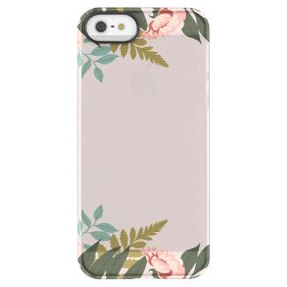 Funda Permafrost® Para iPhone SE/5/5s Caja transparente del teléfono
