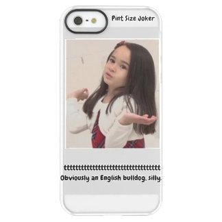 Funda Permafrost® Para iPhone SE/5/5s Comodín del tamaño de la pinta: Dogo inglés