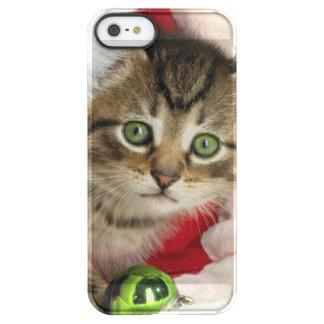 Funda Permafrost® Para iPhone SE/5/5s Gato del navidad - gato del gatito - gatos lindos