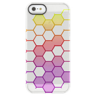 Funda Permafrost® Para iPhone SE/5/5s Maleficio del color en blanco